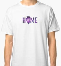 Home - Illinois State America United States USA US Patriot Hometown Birth Place Home Map Classic T-Shirt