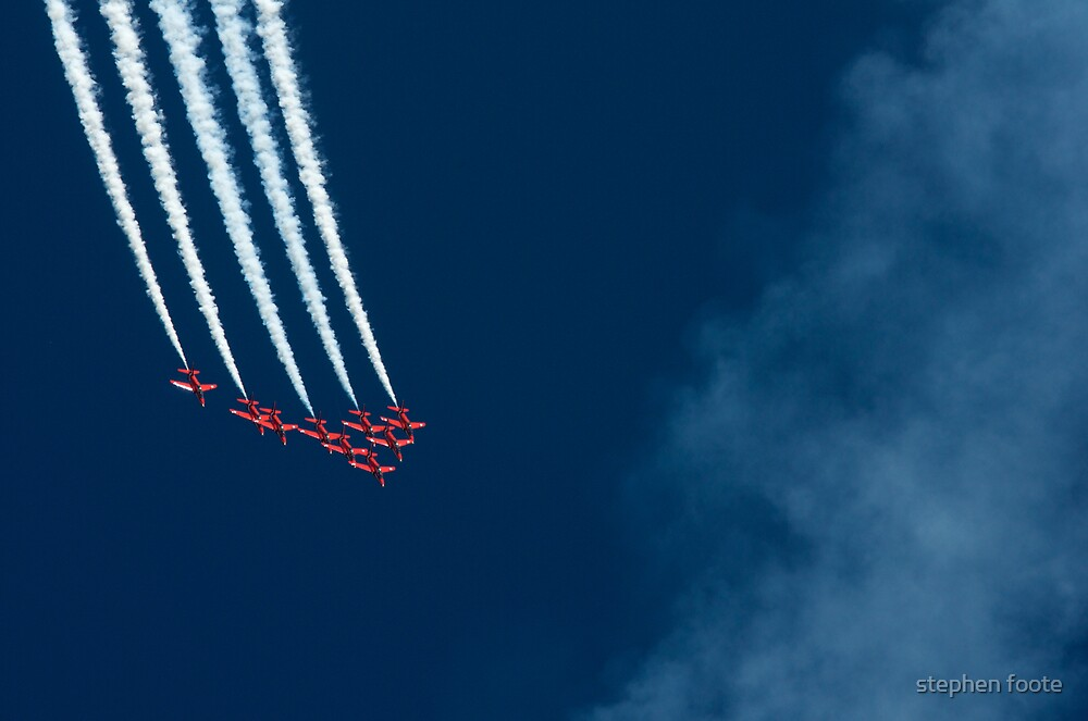 The Red Arrows by stephen foote