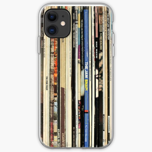 Classic Rock Vinyl Records  iPhone Soft Case