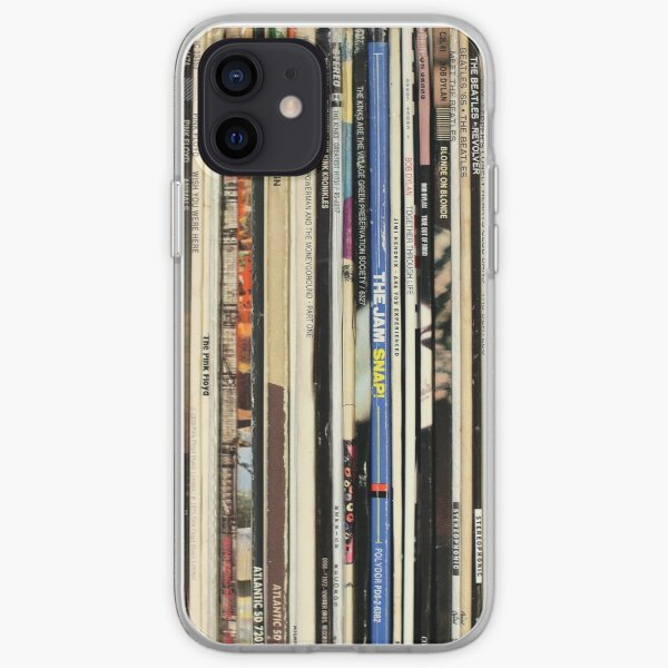 Classic Rock Vinyl Records  iPhone Soft Case