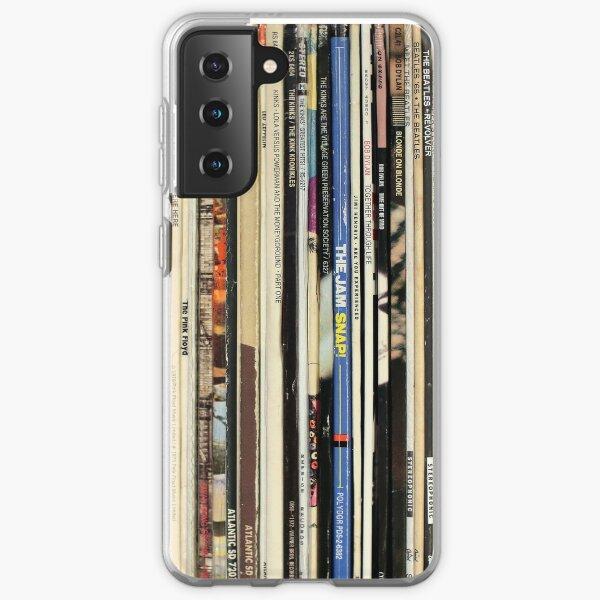 Disques Vinyles Rock Classique Coque souple Samsung Galaxy