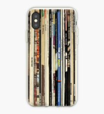 Classic Rock Vinyl Records  iPhone Case