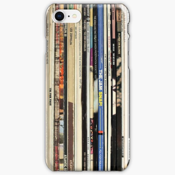 Classic Rock Vinyl Records  iPhone Snap Case