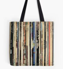 Classic Rock Vinyl Records  Tote Bag