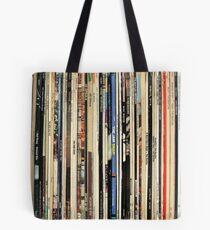 Classic Rock Vinyl Records  Tote Bag