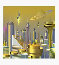 Atomic City 3000 Photographic Print