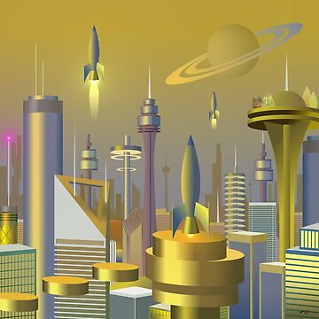 Atomic City 3000 by Leodis