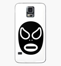 Lucha Libre // Mexican Wrestling Mask Black and White Case/Skin for Samsung Galaxy