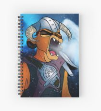 Kion the Dragonborn Spiral Notebook