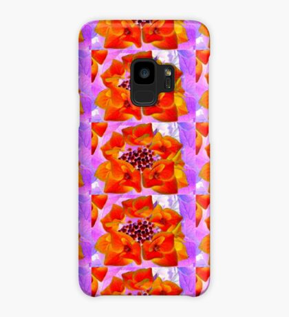 Glowing Hydrangea Case/Skin for Samsung Galaxy