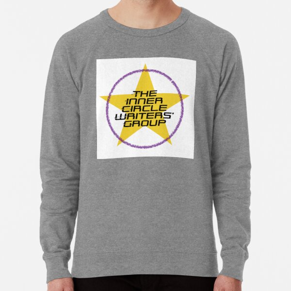Inner Circle Writers' Group coloured logo with star Lightweight Sweatshirt