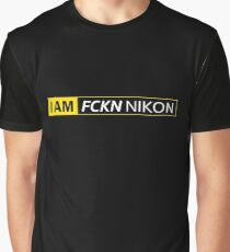 I AM FCKN NIKON Graphic T-Shirt