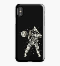 Space Baseball Astronaut Retro Vintage iPhone Case/Skin