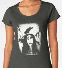 Her eyes so innocent... on hallowed ground. Women's Premium T-Shirt