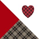 Kiltered Hearts - I Heart Tartan by ScotHomeStyle