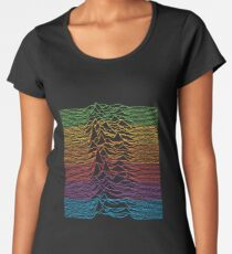 Unknown Pleasures Retro Apple Remix Women's Premium T-Shirt