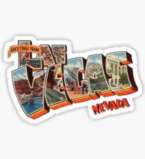 Greetings from Las Vegas, Nevada 1 Sticker