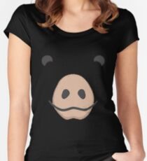 Pig Halloween Costume Women's Fitted Scoop T-Shirt