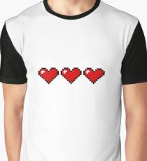 Full Health Pixel Heart Shirt! Graphic T-Shirt