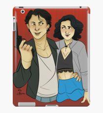 JD and Veronica iPad Case/Skin