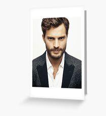 Handsome Jamie Dornan Greeting Card