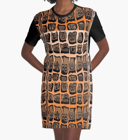 FIre Within  Graphic T-Shirt Dress