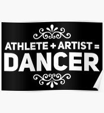 athlete artist dancer Poster