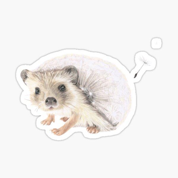 Dandelion hedgehog Sticker