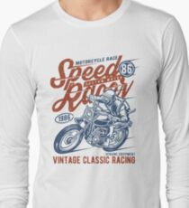 Motorcycle Race Retro Vintage Long Sleeve T-Shirt