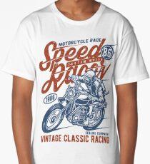 Motorcycle Race Retro Vintage Long T-Shirt