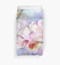 Cherry Blossom In Watercolour Duvet Cover