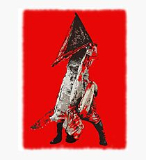 Pyramid Head - silent hill Photographic Print