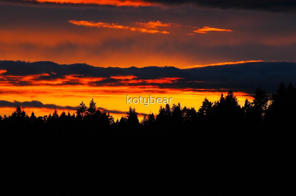 KOOTENAI SUNSET by kotybear
