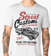 American Muscle Car Retro Vintage Men's Premium T-Shirt