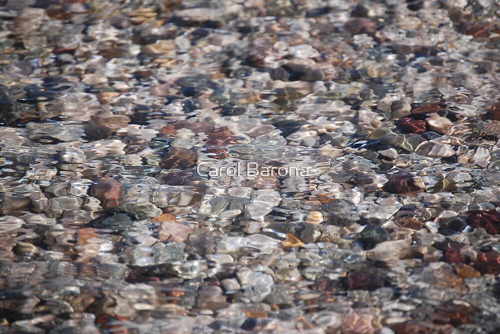 River Rocks by Carol Barona