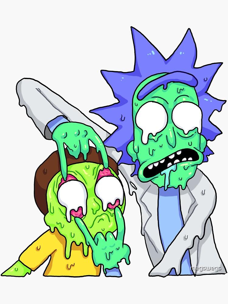 Rick und Morty von megswegs
