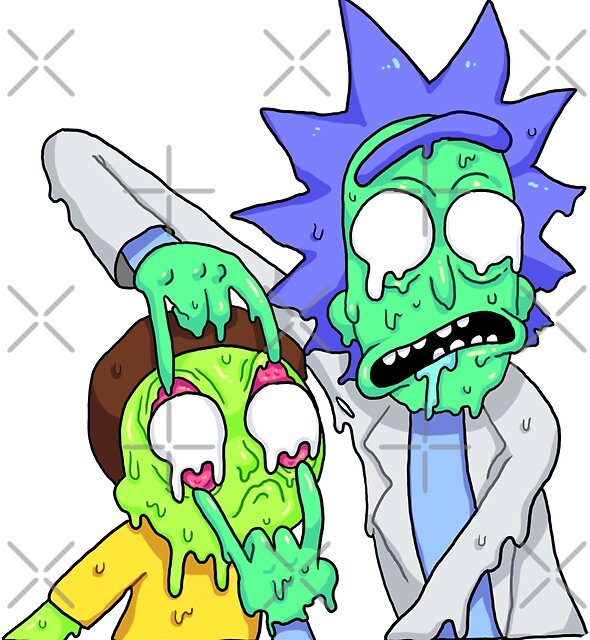 Rick and Morty  by Meg Lee