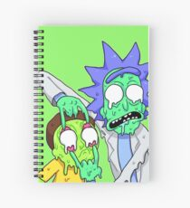 Rick and Morty  Spiral Notebook