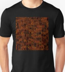 CHAIN MAIL : Colorful Bronze Print T-Shirt