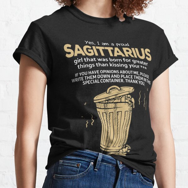 Young Motto Mens Sagittarius Traits Tank Top