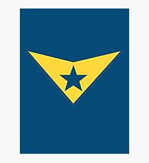 Booster Gold Logo Photographic Print