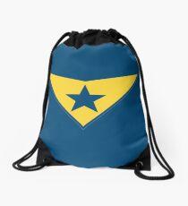 Booster Gold Logo Drawstring Bag