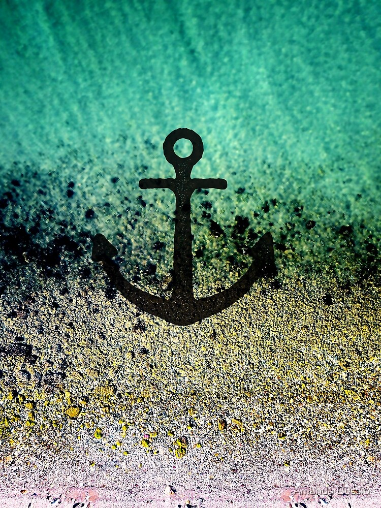 Anchored to the shore by Amanda Bussio