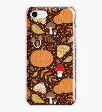 Autumn elements iPhone Case/Skin