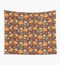 Autumn elements Wall Tapestry
