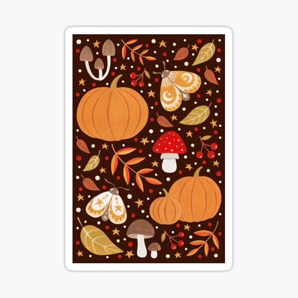 Autumn elements Sticker