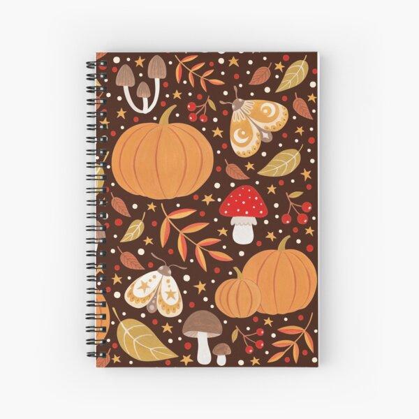 Autumn elements Spiral Notebook
