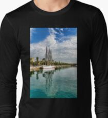 Tall Ships and Palm Trees - Impressions of Barcelona T-Shirt