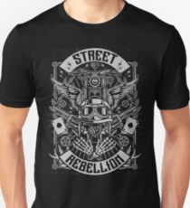 Motorcycle Street Rebellion Retro Vintage T-Shirt