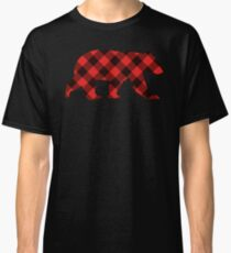 Red Flannel Bear - 928apparel Classic T-Shirt